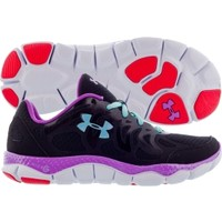 Under Armour Women's Micro G Engage Running Shoe - Black/Purple | DICK'S Sporting Goods