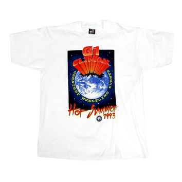 NJPW G1 CLIMAX HOT SUMMER 93 T-SHIRT LG