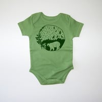 Atlantic Explorer Organic Baby Bodysuit