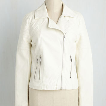Full Chic Ahead Jacket in Ivory