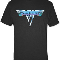 Van Halen Logo T-shirt - Van Halen Original 1978 Logo | Men's Black Shirt