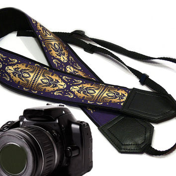 Original design Camera Strap. Graphic design, DSLR / SLR Camera Strap.  For Sony, canon, nikon, panasonic, fuji and other cameras.