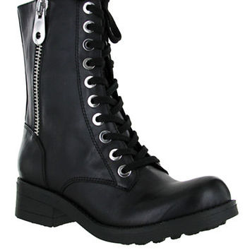 Mia Fredrica Mid Shaft Lace Up Boots