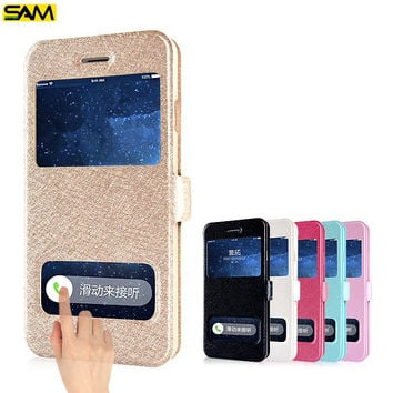 Window Luxury Coque Case For Samsung Galaxy S3 S5 S6 S7 Edge J3 J5 A3 A5 2016 Grand Prime Cover For iPhone 5 5S SE 6 6S 7 Plus