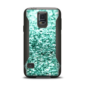 The Glimmer Green Samsung Galaxy S5 Otterbox Commuter Case Skin Set
