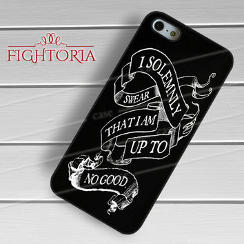 I Solemnly Swear Harry Potter Quote - z321z for iPhone 6S case, iPhone 5s case, iPhone 6 case, iPhone 4S, Samsung S6 Edge