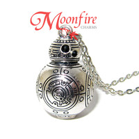STAR WARS BB-8 Silver Pendant Necklace
