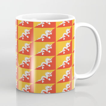 flag of bhutan 2-Bhutan, Himalaya, South Asia,Bhutanese, bhoutan, bhoutanais Coffee Mug by oldking