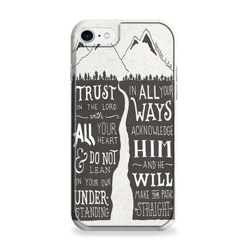Bible Verse Proverbs 36 iPhone 6 | iPhone 6S Case