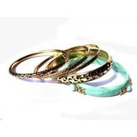 Foreign Lands Amorous Fashion Gold Multilayer Bracelet