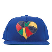 *Generation of Dreamers - Ball is Life Olympic Snapback Hat - Blue