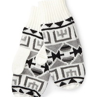 Southwestern-Patterned Mittens
