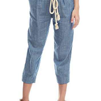 Free People Everyday Chambray Pant