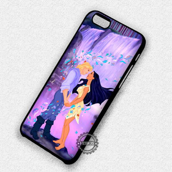 Meets Him Pocahontas Art Cartoon - iPhone 7 6 5 SE Cases & Covers