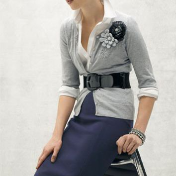 Outfits I want / Lauren by Ralph Lauren Patent Stretch Belt | Nordstrom