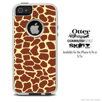 The Simple Giraffe Skin For The iPhone 4-4s or 5-5s Otterbox Commuter Case