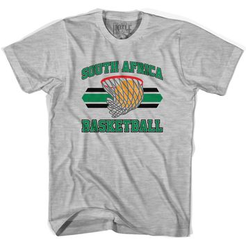 South Africa 90's Basketball T-shirts-Adult