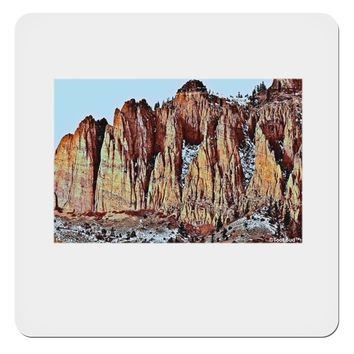 "Colorado Mountain Spires 4x4"" Square Sticker by TooLoud"