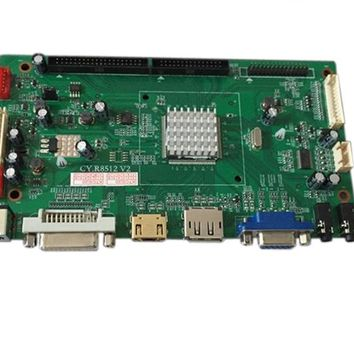 4Kcontroller board support support VGA, SVGA,XGA,SXGA,UXGA, QHD and UHD resolution TFT LCD panel ,such as UHD 4k panel