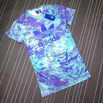 DCCKH3F Adidas Women Summer Tie dye Dress