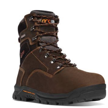 """Danner Crafter 8"""" Work Boots Non Metallic Toe Insulated 600G"""