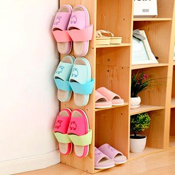 Storage Rack Closet Holder Shelf Space Door Hanging Holder New Shoe Organizer