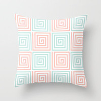 Illusions Throw Pillow by Dale Keys | Society6