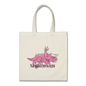 Cute Nasutoceratops Tote Bag