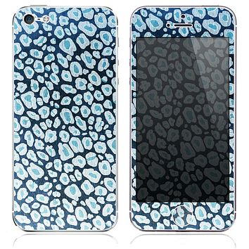 The Inverted Cheetah Animal V5 Skin for the iPhone 3, 4-4s, 5-5s or 5c