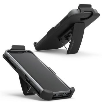 PUREGEAR DUALTEK HIP HOLSTER CASE FOR SAMSUNG GALAXY S8 BLACK
