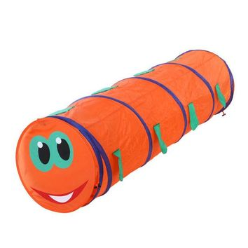 DCCKL3Z Baby Tunnel Caterpillar Crawling Animal Baby Tent Toys Indoor and Outdoor Kids Play Tent for Children Random Color