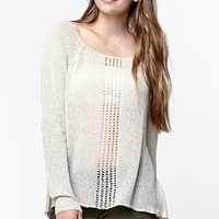 Rip Curl Young Love Pullover Sweater - Womens Sweater - White