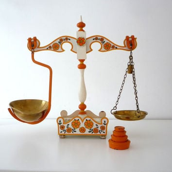 Shop Vintage Kitchen Scale On Wanelo