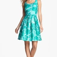 Taylor Dresses Print Fit & Flare Dress | Nordstrom