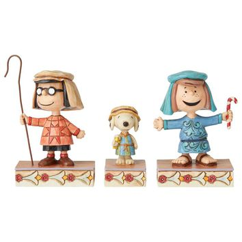 Peanuts by Jim Shore Christmas Pageant Set #3 – 6004974