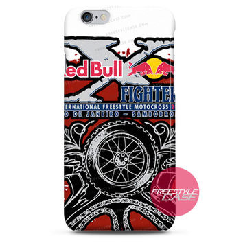 Red Bull Fighters-International Freestyle Motocross iPhone Case 3, 4, 5, 6 Cover