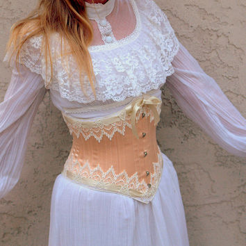 Underbust Corset Steampunk Wedding by LaBelleFairy on Etsy