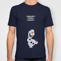 Olaf // Frozen T-shirt by Lukas Emory