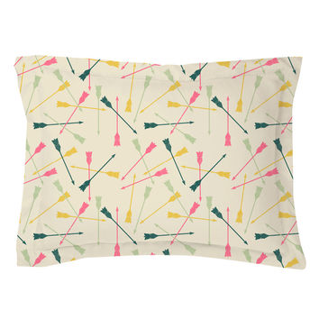 Flying Arrows Pillow Shams