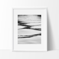 Ripples in the Water Photography Wall Art, Contemporary Decor Ideas
