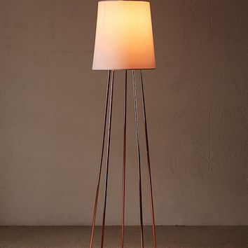 Reiley Floor Lamp   Urban Outfitters
