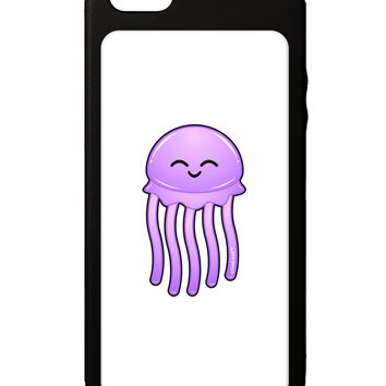Cute Jellyfish iPhone 5C Grip Case  by TooLoud