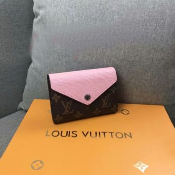 Louis Vuitton LV Women Leather Purse Wallet