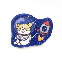 Space Corgi Sticker