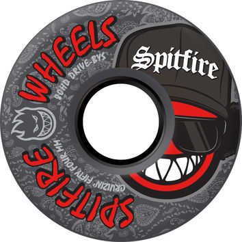 Spitfire 80HD Streeetz 80a Skate Wheels- Black - 54mm