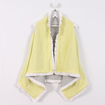 Throw-over Vest & Scarf