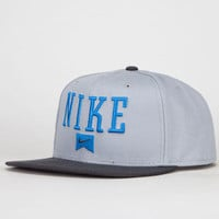 Nike Sb Icon Mens Snapback Hat Charcoal One Size For Men 21974611001