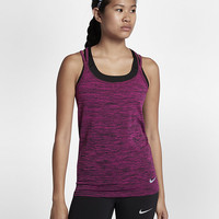The Nike Dri-FIT Knit Women's Running Tank.