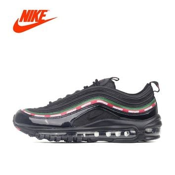 Original New Arrival Offical Undefeated x Nike Air Max 97 Breathable Men's Running Shoes Sports Sneakers Brand Design