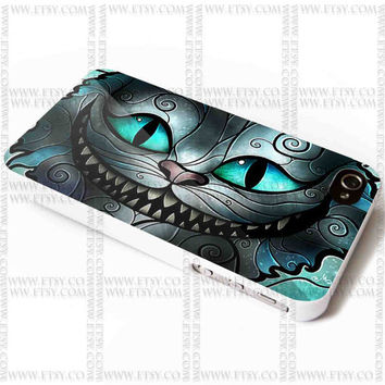 Cheshire Cat Smile Alice - iPhone Case 4/4S, 5/5S, 5C and Samsung Galaxy S3, S4 Case.